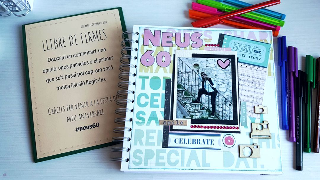 Libro de firmas para #Neus60