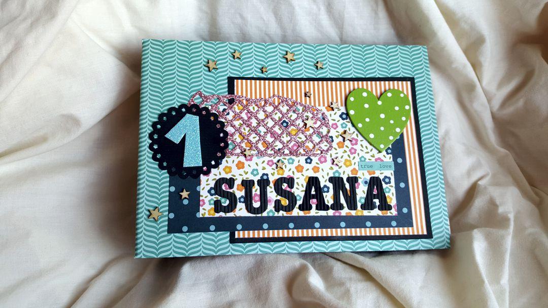 Álbum de scrap para Susana