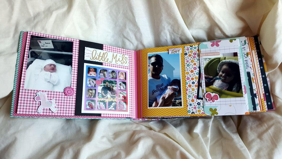 Álbum de scrapbooking personalizado