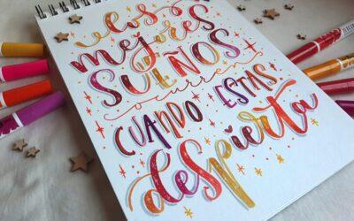 El Lettering en el mundo de sara&BUGS