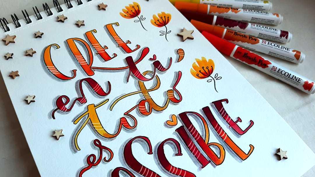 Plantillas para Lettering gratuitas
