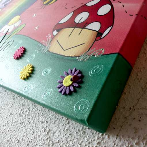 Cuadros decorativos infantiles para niñas