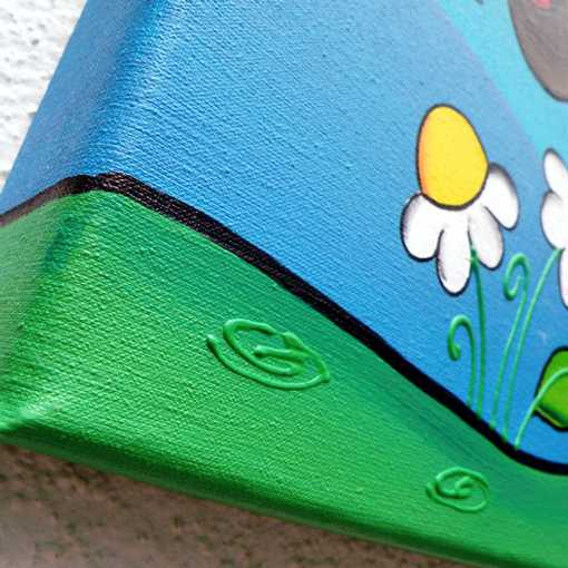 Cuadros infantiles pintados a mano