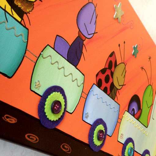 Cuadros para dormitorios infantiles