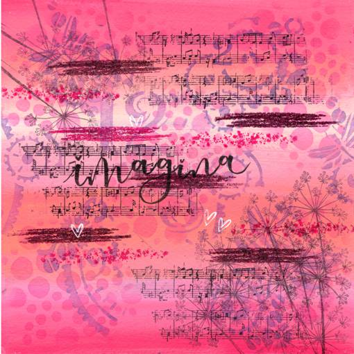 Ilustración original escaneada de sara&BUGS