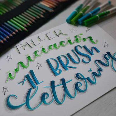 Talleres de iniciación al Brush Lettering