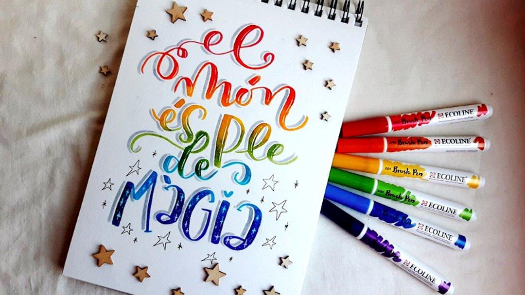 Taller de combinación de colores en el Lettering
